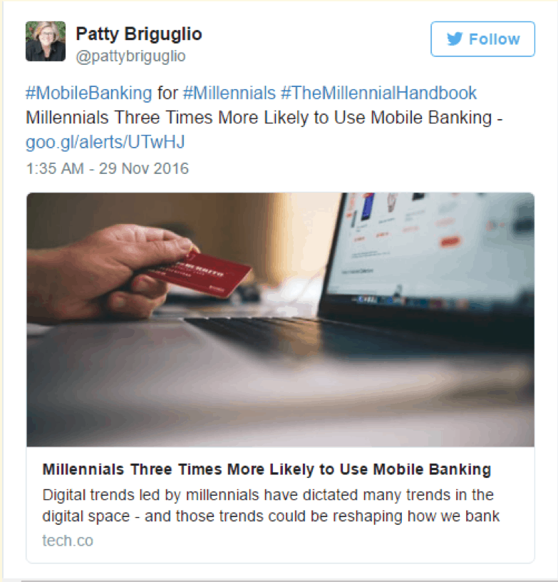 Millennial Market With Mobile Banking solutions